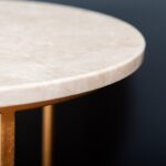 A marble table surface