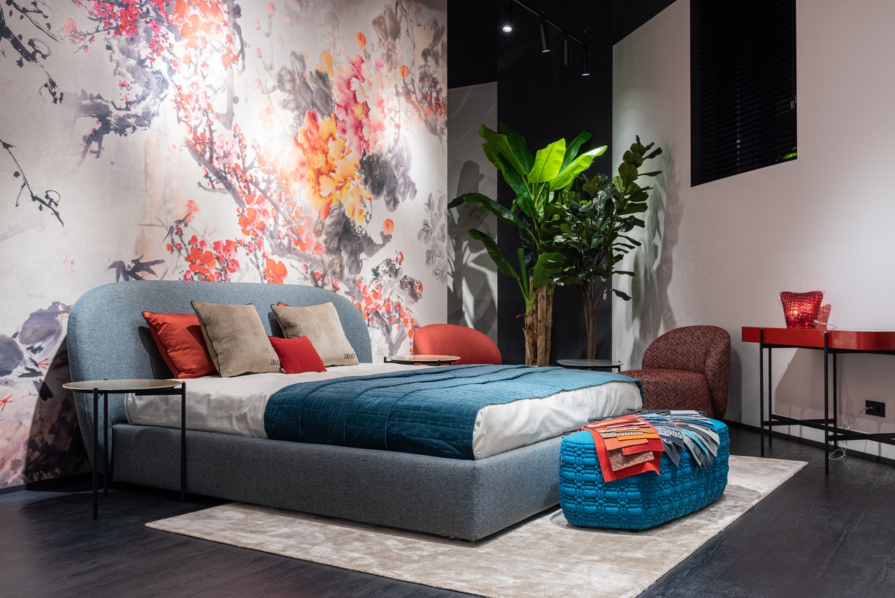 an image demonstrating feng shui bedroom layout